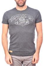 T-shirt Armani Jeans AJ Sweatshirt -25% Made In Italy Uomo Grigio B6H42LN-E2