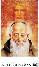 ADESIVO STICKER SANTINO HOLY CARD SAN LEOPOLDO MANDIC