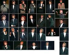 60 Barry Manilow colour concert photographs - Manchester 21st November 1988