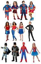 Childrens Superhero Costume Girls Boys Fancy Dress Book Week Day