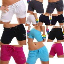 Sexy Miss Damen Hot Pant SHORTY kurze Hose Strass Pants S 34 M 36 L 38 XL 40