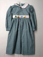New Girl Viva La Fete Smocked Holiday Christmas Dress Size 4