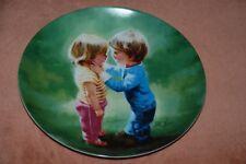Donald Zolan Plate:SHARING SECRETS Childhood Friendship