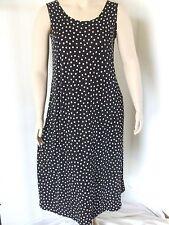 Travel Knit Dress, Long A-Line Tank, NEW, stretchy wash&wear poly/span #032