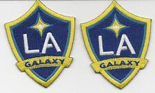 2 LA Galaxy Football Club Soccer Patch/Badge/Crest Iron/SewOn