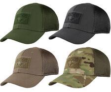 Condor 161140 Tactical Flex Mesh Fit Military Combat Fitted Baseball Cap Hat