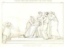 Flaxman's Illiad Drawing -1833- ANDROMACHE FAINTING