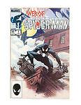 WEB OF SPIDER-MAN #1 (1985 Marvel Comics) - Battles the Alien Costume - Vess Art