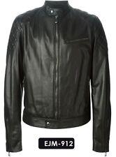 Genuine Soft Lambskin Leather Biker Jacket