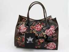 MIA BAG BORSA PVC NERO TRASPARENTE 14137PE Borsa Shopper Donna