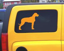 Deutsche Dogge Hunde Aufkleber Autoaufkleber Sticker
