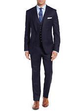 Salvatore Exte Mens 3-piece Suit Set Two Button Blazer Jacket Pants Tux Vest