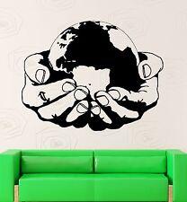Vinyl Decal World Environmental Health Earth Nature Green Ecology (ig2339)