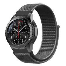 Für Samsung Gear S3 Frontier /Gear S3 Classic 22mm Nylon Uhrenarmband Ersatzband