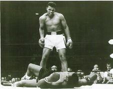 Cassius Clay (Ali) Vs Sonny Liston 2/25/65 B&W 8X10 Phantom Punch