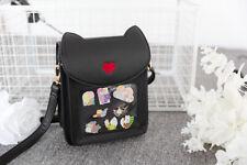 Original Cute Cat Ears Metal Badge itabag backpack Messenger Shoulder Bag N