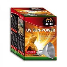 Metalldampflampe Terra Exotica UV Sun Power Desert 35W 50W 70W UVB Wärme Licht