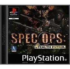 Spec Ops: Stealth Patrol (Sony Playstation 1, 2000) - versión estadounidense