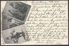 Chile Postcard Gruss Aus Estrecho De Magallanes To Austria 1901