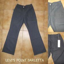 Pantalone Bomb Boogie Da Donna In cotone A Zampa D'elefante Blu Taglia S-M