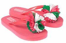 Gymboree Crazy 8 3D Flower Flip Flop Thongs Slippahs Sandals 9 10 NWT