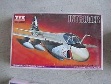 Ben Hobby Japan Grumman A-6A Intruder Hawks Airplane Model Kit 1/100 MIB
