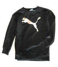 PUMA Baby Girls' Fleece Sweater,Black