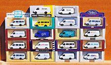 Lledo Diecast PM MODELS - 1992 furgoni FORD TRANSIT-scegliere tra elenco-LOT 28