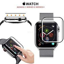PELLICOLA VETRO TEMPERATO per Apple Watch series 4 3 2 CURVO 5D 38 40 42 44 mm