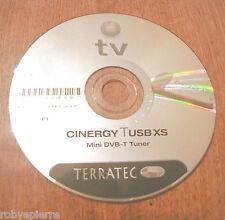 CD ROM per PC tv terratec cinergy USB xs mini dvb-t tuner f1 com vedi la foto