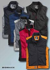 KORSAR Softshell Weste Athletic Arbeitsweste in sechs Farben Gr XS bis 5XL