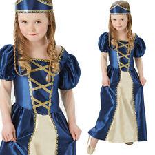 Girls Medieval Renaissance Princess Tudor Costum Kids Fancy Dress Rubies 620503