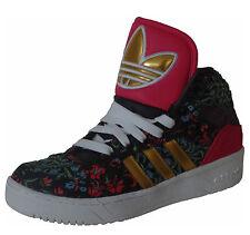 Adidas Originals m attitude W floral negro oro High-Top sneakers nuevo