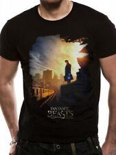 Fantastic Beasts Train Official Unisex Black T-Shirt Harry Potter Womens Mens