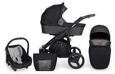 Baby Rotax Pram Pushchair Buggy Stroller Car Seat Modern Travel System 3 in1