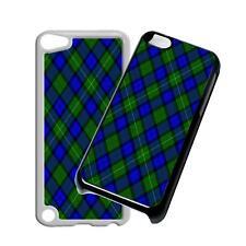 Tartan Blu Telefono Case Cover per iPhone 4 5 6 iPod iPad Galaxy S4 S5 S6 S7 M2