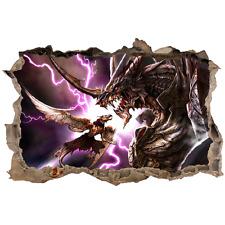 Stickers 3D Dragons réf 23811