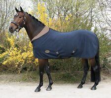 Harry's Horse Fleecedecke mit Teddyfutter halber Hals Kreuzgurte Beingurte