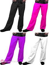 Para Hombre Bengalas Discoteca Adulto Disfraz 70S Pantalones Acampanados 60S 1970S S-XXL
