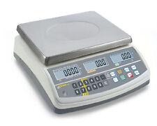KERN Preisrechnende Waage 30kg | Eichfähig | Teewaage | Ladenwaage | Marktwaage|