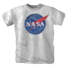 Nasa Weltraum Galaxy Sterne Mond USA Shirt S-4XL Sportsgrey