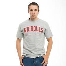 Nicholls State University Colonels NCAA College Cotton Game T-Shirt S - 2XL
