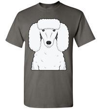 Poodle Dog Cartoon T-Shirt Tee - Men Women Ladies Youth Kids Tank Long Sleeve