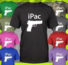 iPac PRO GUN PISTOL FIREARMS NRA SIG AR15 9MM 2ND AMENDMENT RIGHT TO T-SHIRT TEE