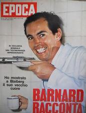 Epoca 909 1968 La chirurgia del dott Barnard.Diario di Vittorio Emanuele II