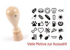 Gastro & Nahrungsmittelgewerbe Bäckereiausstattung Stempel « Brot 02» Adressenstempel Motiv Name Bäcker Bäckerei Backwaren Backshop