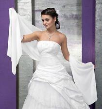 "SOFT CHIFFON PROM/BRIDAL BRIDESMAID WEDDING WRAP/DRAPING SHAWL/STOLE/SCARF,90""L"