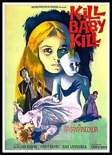 Kill Baby Kill -  Operazione Paura 3 Horror Movie Posters Classic Cinema