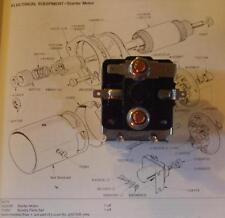 TRIUMPH Spitfire GT6 Stag Dolomite STARTER SOLENOID