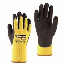3 Paar TOWA PowerGrab Thermo gelb Handschuhe Arbeitshandschuhe Winterhandschuhe
